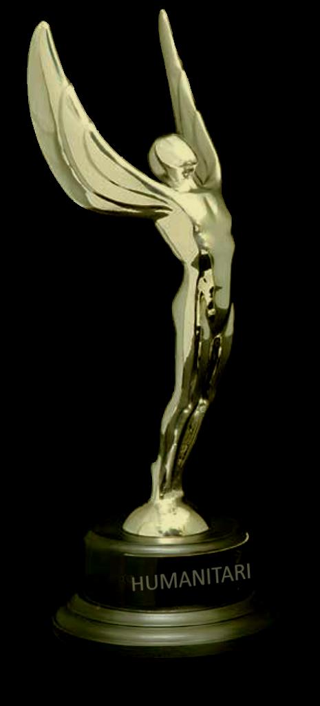 Humanitarian Award Statue